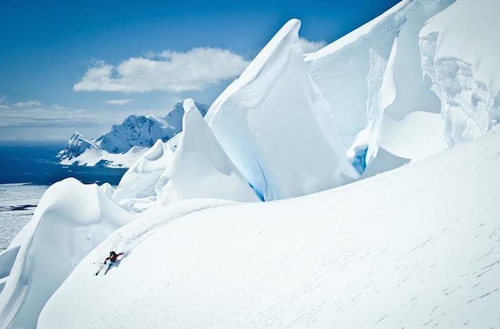 World's First Heli-Skiing Adventure in Antarctica (1)