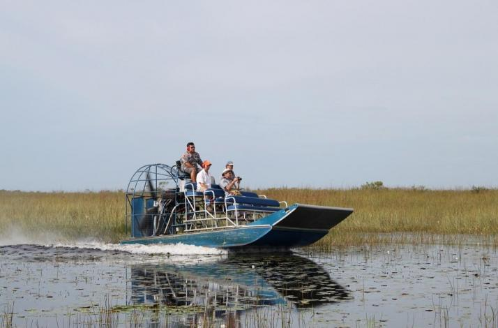 Airboating with the Panther Clan: In Miami, Florida (1)