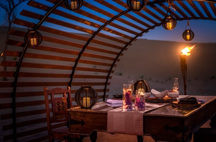 Dine in the desert dunes on a private safari dinner: In Dubai, United Arab Emirates (1)
