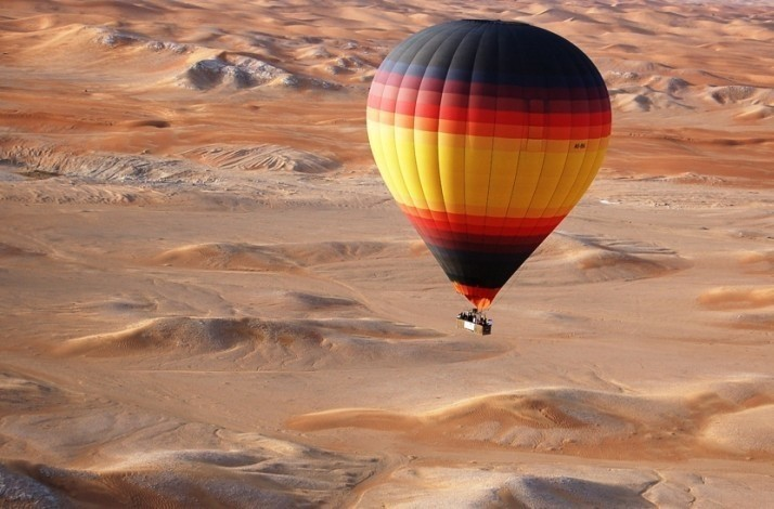 Float 4,000 feet above the Dubai desert: In Dubai, United Arab Emirates (1)