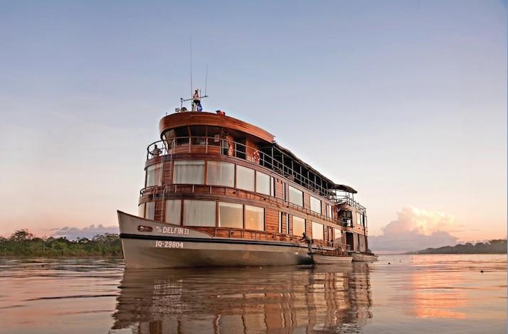 Explore the Upper Amazon Aboard the <em>Delfin II</em>
