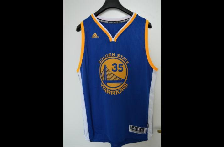 bc25c623c02 Golden State Warriors No. 35 Jersey by Adidas Autographed by Kevin Durant  (2)