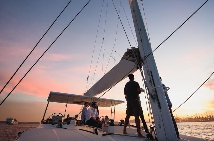 Cruise into the sunset with your squad aboard a luxury yacht: In Singapore, Singapore (1)