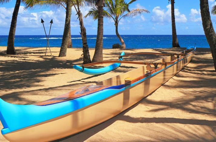 Watch the sun rise—then ride the waves in an outrigger canoe: In Honolulu, Hawaii (1)