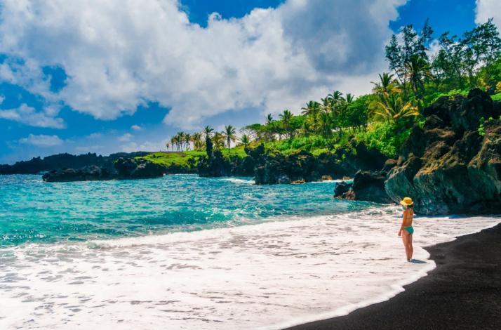 Отправьтесь по дороге вдоль океана в затерянный мир Ханы: In Гонолулу, Гавайи (1)