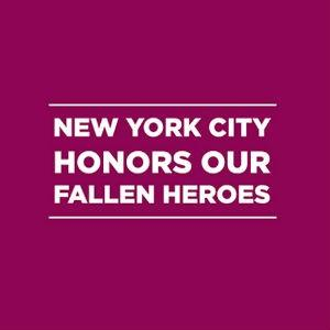 The Mayor's Fund to Advance NYC Fallen Heroes Relief Effort